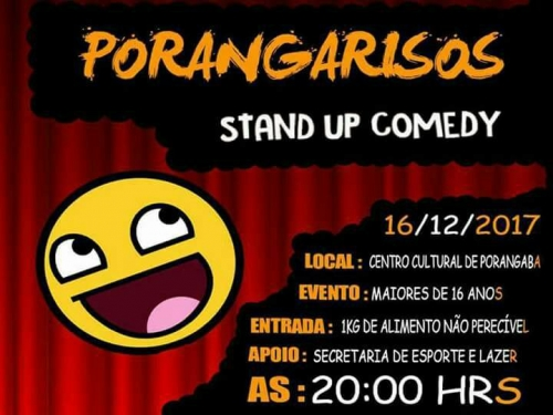 PORANGARISOS - STAND UP COMEDY